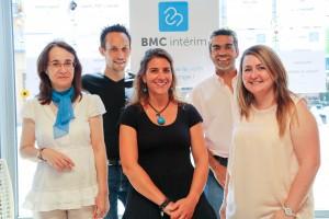 BMC Intérim - equipe